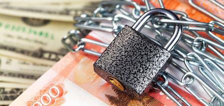 Блокировка расчетного счета за РСВ